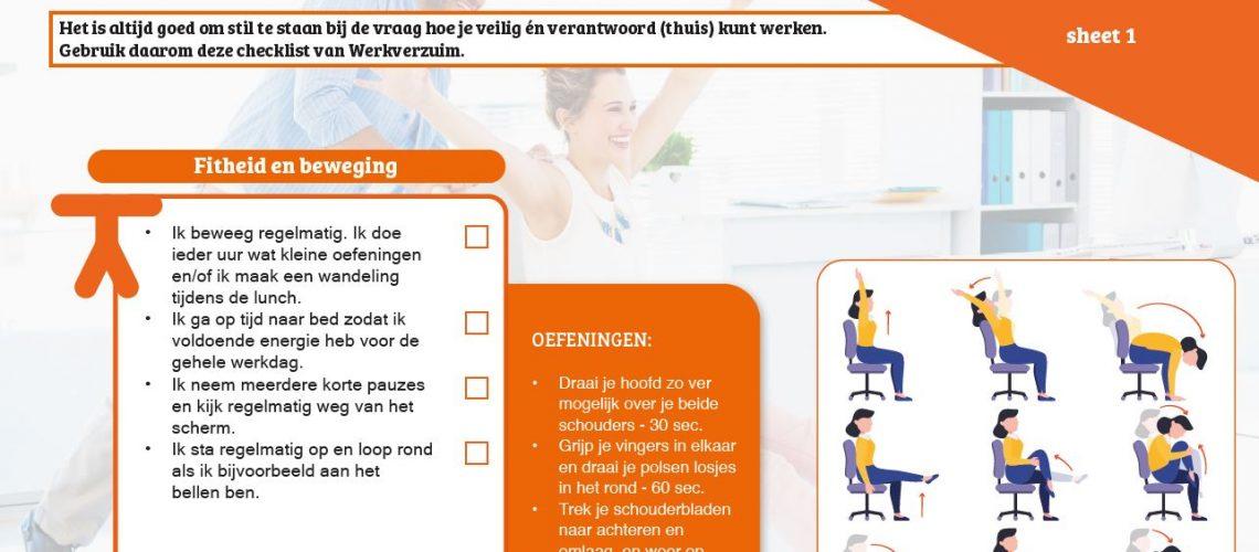 Screenshot informatiesheet